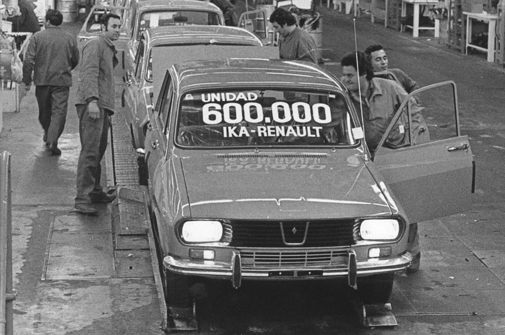 Renault 12 en Santa Isabel
